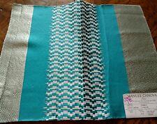 MANUEL CANOVAS Fabric Remnant - PABLO -03 Texture Silk Blend  INDIA 18x14 - $186