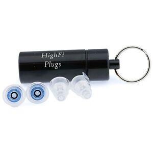 high fidelity concert rave musician dj earplugs ear plugs hearing protection 767872723337 ebay. Black Bedroom Furniture Sets. Home Design Ideas