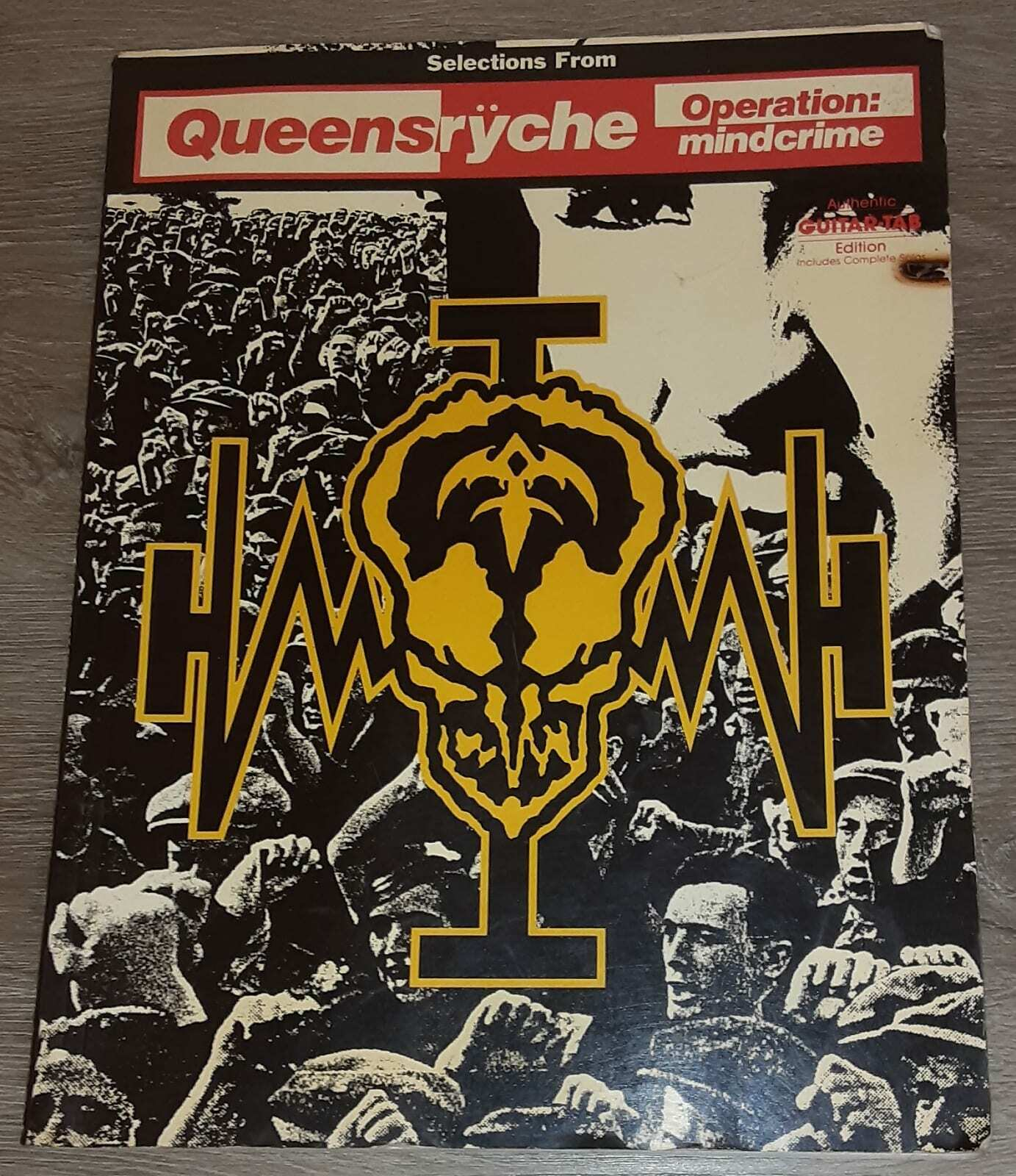 TABLATURE QUEENSRYCHE GUITAR TAB ***BRAND NEW*** QUEENSRYCHE SONGBOOK