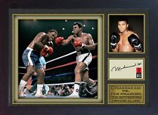 Boxer Muhammad Ali signed autograph WORLD CHAMPION Boxing Memorabilia Framed #04