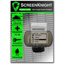 Screenknight Garmin Foretrex 401 Protector De Pantalla Invisible Militar Escudo