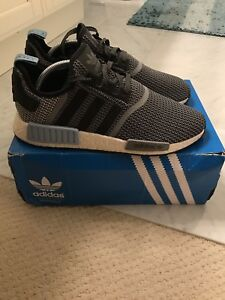 c3e18ef09ae00 Adidas NMD R1 Clear Blue S79159 Size 10.5 100% Authentic Rare