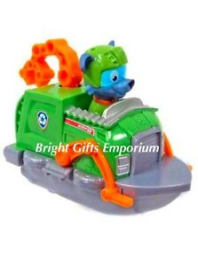 Image Is Loading Paw Patrol Rocky  Recycling Truck Tugboat GENUINE Nickelodeon