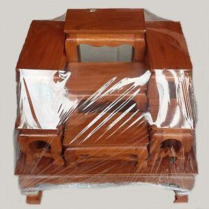 Tables Altar Amulets Nice Teak Set 7 Pc Mini Wood Buddha Thai Strong ...