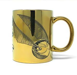 Harry-Potter-Tasse-I-039-m-A-Catch-Snitch-Schnatz-Premium-Kaffeetasse-Becher-Gold