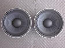 """NEW (2) 10"""" Subwoofer Speaker.8ohm.ten inch bass guitar Cabinet Replacement Pair"""