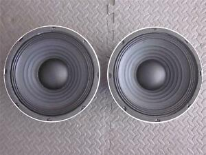 new 2 10 subwoofer inch bass guitar cabinet replacement pair ebay. Black Bedroom Furniture Sets. Home Design Ideas
