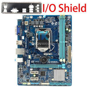 for-Gigabyte-GA-H61M-S1-Intel-H61-LGA-1155-Motherboard-I-O-Shield-Tested-XU