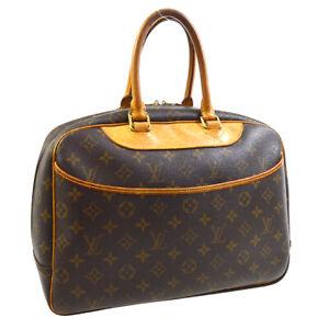 LOUIS-VUITTON-DEAUVILLE-BUSINESS-HAND-BAG-PURSE-MONOGRAM-VI0998-M47270-30250