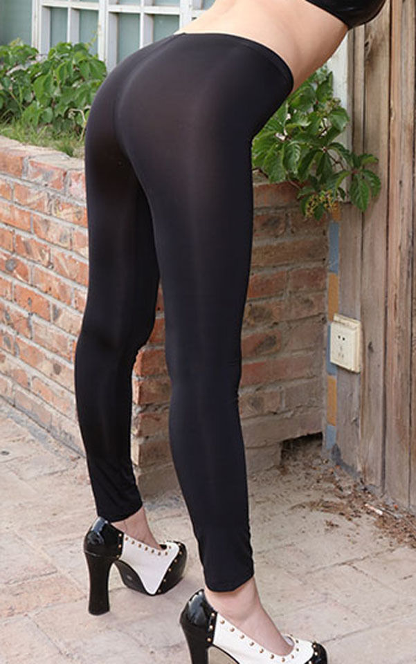 Women/'s Fitness Semi See-through Leggings Elastic Sports Pants Buttocks Shorts