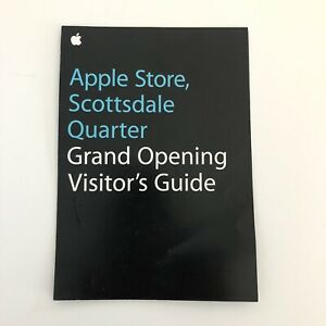 Apple-Store-Scottsdale-Quarter-Grand-Opening-Visitor-s-Guide-Limited-Edition-AZ