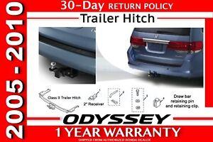 Image Is Loading Genuine OEM Honda ODYSSEY VAN Trailer Hitch 2005
