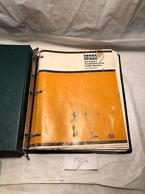 OPERATOR PARTS 3 MANUALS Super D CD CASE 580D 580SD TRACTOR SERVICE MANUAL