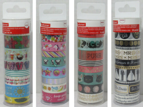 Craft Smart Washi Crafting Tape multiple pieces NEW u pick