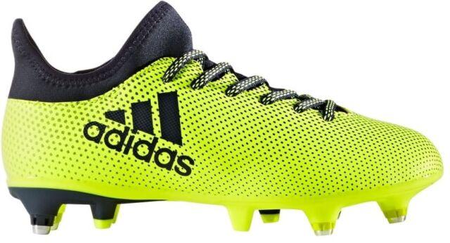 8b1130966e9b adidas Unisex X 17.3 Kids SG Football BOOTS Shoes Footwear Sports ...