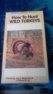 How-To-Hunt-Wild-Turkeys-RARE-Simitar-Video-VHS-turkey-hunting-Jay-Warburton-OOP