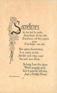 Arts-Crafts-Write-a-friend-saying-1919-postcard-6878