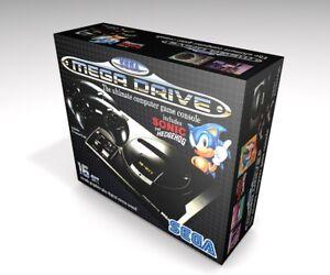 Caja vacia Sega Mega Drive 1 (no incluye la consola)