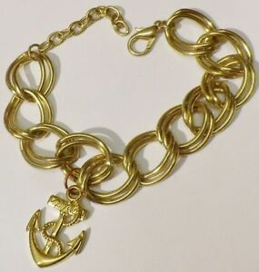 bracelet-bijou-style-vintage-maillon-deco-couleur-or-pampille-ancre-3419