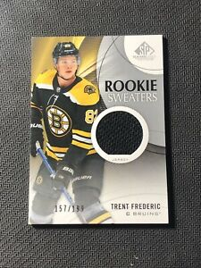 2019-20-SP-GAME-USED-TRENT-FREDERIC-ROOKIE-SWEATERS-JERSEY-ed-157-199