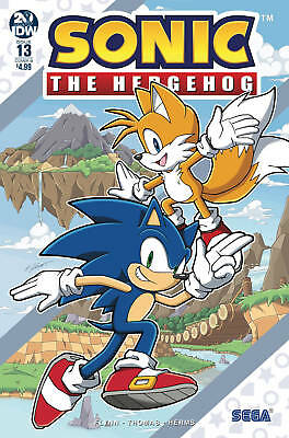 Sonic The Hedgehog #9 cover A Sega Game IDW Comic 1st Print 2018 NM