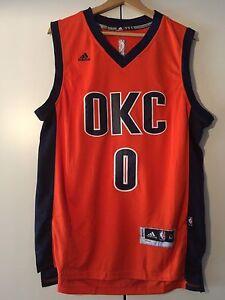 Canotta Maglia Russell Oklahoma Thunder Nba Basket Westbrook Jersey O8PknNw0X