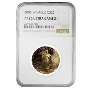 2003-W-1-2-oz-25-Proof-Gold-American-Eagle-NGC-PF-70-UCAM