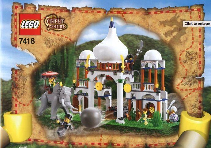 LEGO® Orient Expedition Super Set 7411 7412 7413 7413 7413 7415 7417 7418 NEU Ovp NEW NRFB b699d0
