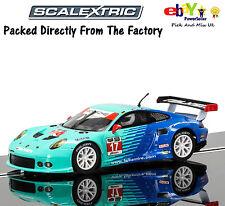 NEW IN Scalextric Slot Car  Porsche 911 RSR, Falken Tire C3851