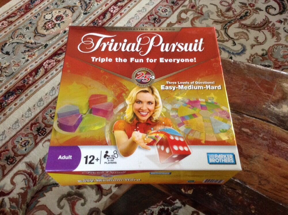 2008 Trivial Pursuit 25th Anniversary Edition NEW