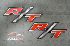 1970 Charger R/T Door Side Scoop Emblem Without Studs 3445919 Pair Set (2)