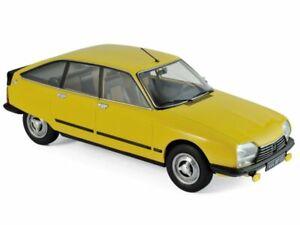 CITROEN GS X3 - 1979 - mimosa yellow - Norev 1:18