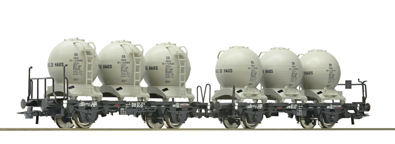 oferta de tienda Roco 47373 Vagón Vagón Vagón Transporte Contenedores DB Ep3 con Cambio de Eje si lo Desea  Disfruta de un 50% de descuento.