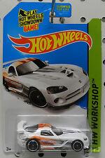 DODGE BOYS VIPER WHITE SRT10 ACR MOPAR RACE CAR HW HOT WHEELS