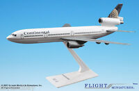 Flight Miniatures Continental Airlines Douglas Dc-10 1:250 Scale In Box