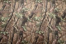 Tessuto Mimetico Woodland in materiale impermeabile in PVC forte. 148cm x 100cm