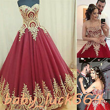Burgundy Sleeveless Ball Gown Tulle For 15 Years Vestidos De Quinceanera Dress