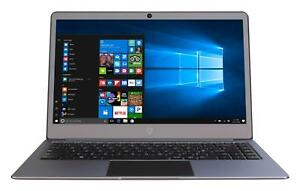 Gemini Laptop 14.1 Intel Celeron 4GB RAM 32GB Windows 10 Slim Laptop Grey