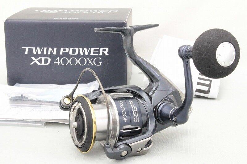 Shimano TWIN POWER XD 4000-XG Spinning Reel New