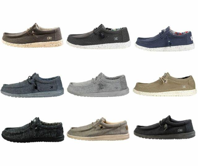 Shoes Men Dude Wally Socks Stretch