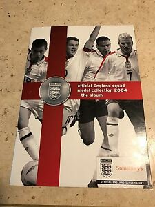 Sainsbury-039-s-2004-England-Squad-24-Coin-set-BOGOF-therefore-2-sets