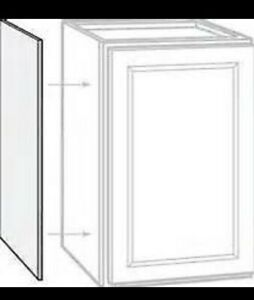 Details About 18mm Mfc Replacement Gable Ends Cupboard Sides Kitchen Unit End Panel Various