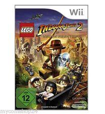 Nintendo Wii Lego Indiana Jones 2 Die neuen Abenteuer für Wii NEU UND OVP