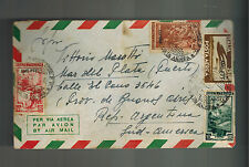 1952 Trieste Italy AMG FTT Cover to Argentina