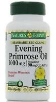 Nature's Bounty Evening Primrose Oil 1000 Mg Softgels 60 Ea (pack Of 2) on sale
