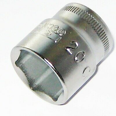 "Bahco SBSF-10 Socket 10mm 3//8/"" Square Drive"