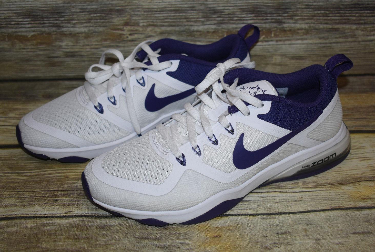 bf3b0ff950de5 Women s Nike Zoom Fitness Training TCU Texas Christian Horned Horned Horned  Frogs 905897 6.5 51aff6