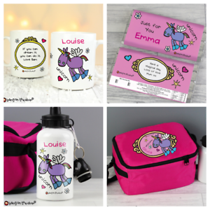 Image Is Loading UNICORN GIFT IDEA PERSONALISED FUNKY GIFTS Girls