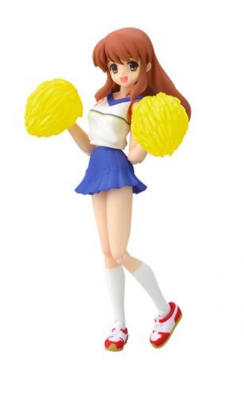 NEW figma 033 The Melancholy of Haruhi Suzumiya Mikuru Asahina Cheerleader Ver.