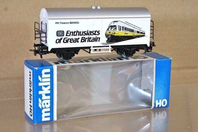 Marklin Märklin 4415 Sondermodell DB Enthusiasts Von Großbritannien Kühlwagen Ne